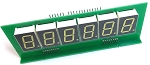 6 / 7 Digit Dimable LED Score display for Bally or Stern Pinball - SINGLE MODULE