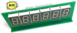 LED Score display for Bally or Stern Pinball 6 Digit KIT  - Set of 5